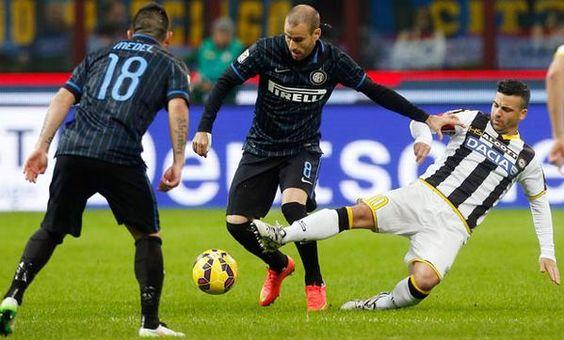 Medel con el Inter de Milan