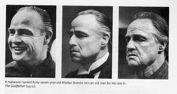 Marlon Brando The Godfather makeover - Limk