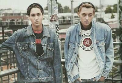 EXO | KAI and Tao for DIE JUNGS