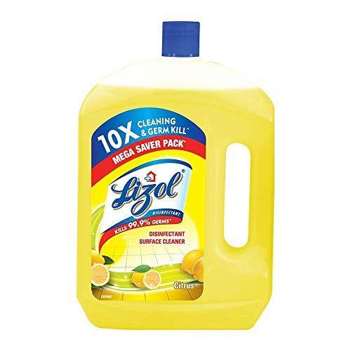 Lizol Disinfectant Floor Cleaner Citrus 2 L Lizol In 2020 Floor Cleaner Better Cleaning Surface Cleaner