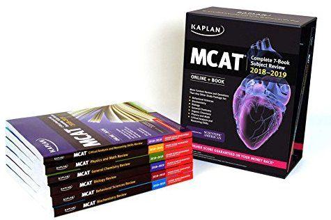 Mcat Complete 7 Book Subject Review 2018 2019 Online Book Kaplan Test Prep 9781506223957 Medicine Health Science Books Reading Online Book Categories