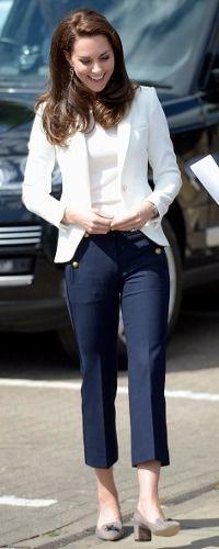 16 Jun 2017 - Duchess of Cambridge attends Land Rover BAR Roadshow