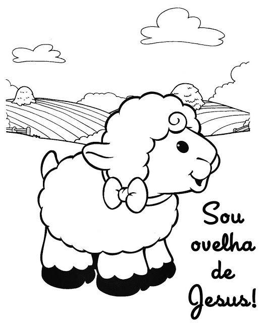 70 Desenhos De Ovelhas Ovelhinhas De Pascoa Cantinho Do