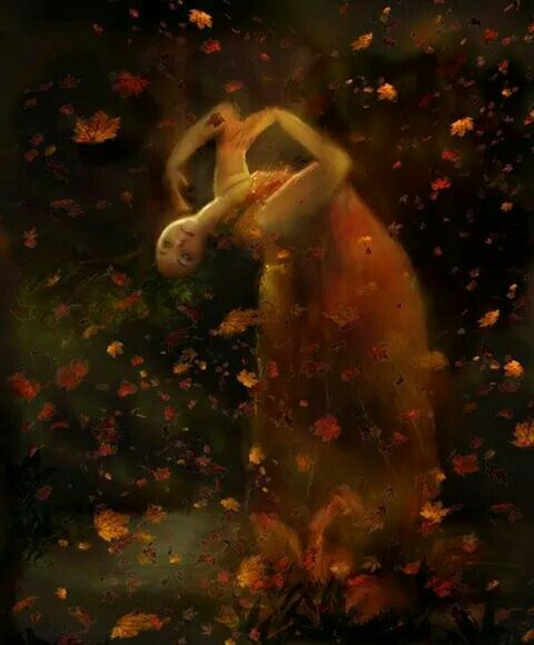 """""""Anyone who thinks fallen leaves are dead, have not seen them dancing on a windy day"""" .. via Miss Havisham's/FB"""