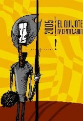 cartel del IV Centenario Don Quijote Gobierno de Aragón 2004 irene alos - Buscar con Google