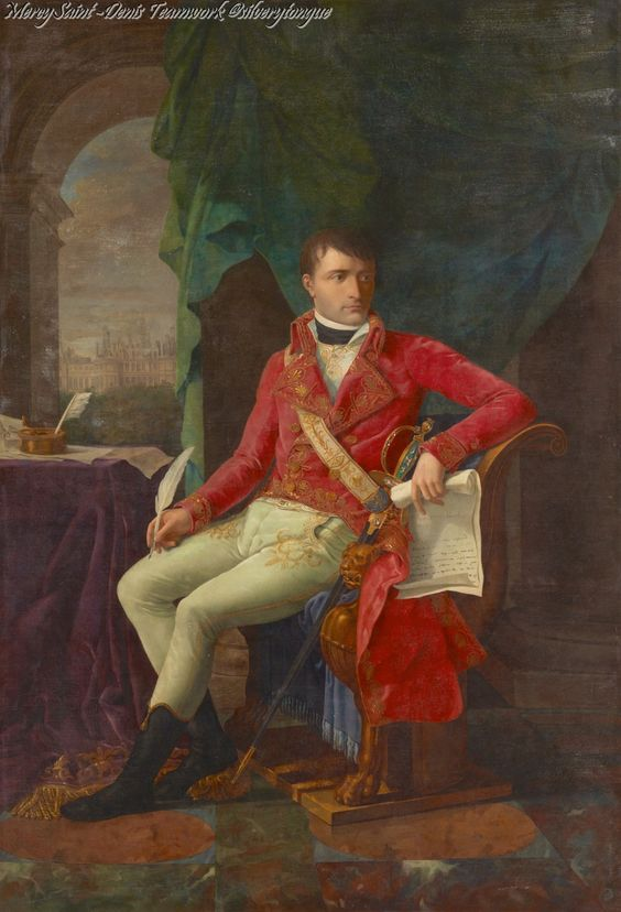 Portraits of napoleon as first consul 1802 by antoine for Consul definition