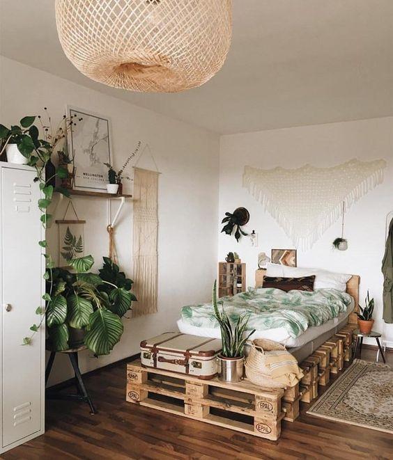 Quarto Tumblr Plantas - Quarto Tumblr Plantas, decor | Decoração ...