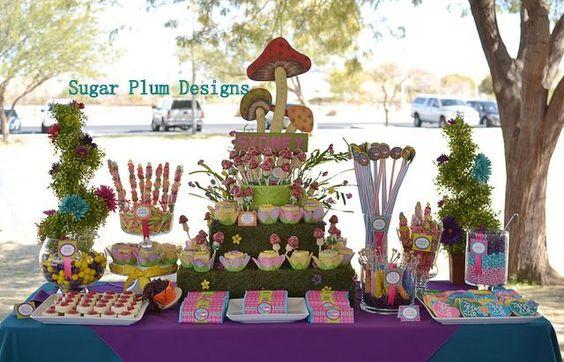 Alice in Onederland Party & Dessert Buffet
