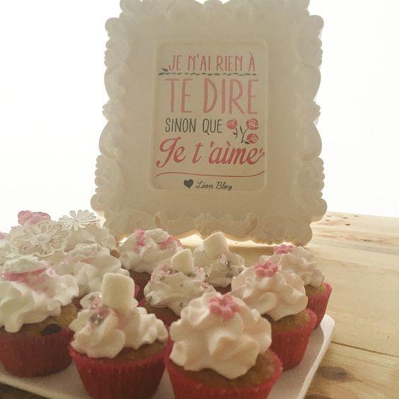 Love mini cupcake - Sweet table