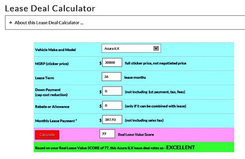Calculate Your Own Car Lease Payment Cars, Simple math and Math - lease payment calculator