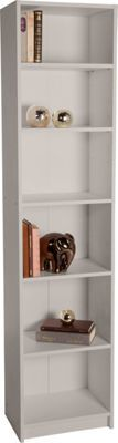 Maine Half Width Tall Extra Deep Bookcase Putty At Argos Co Uk