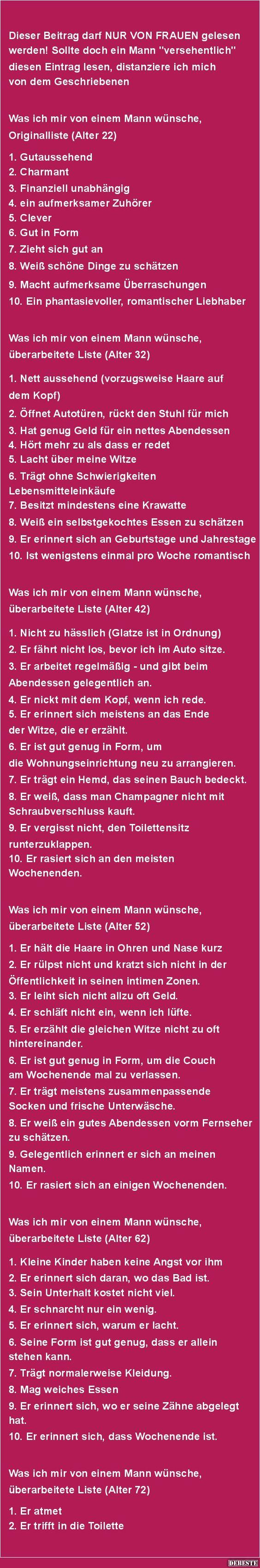 Küchen Witze Über Frauen ~ was frau alles will debeste de, lustige bilder, sprüche, witze und videos sprüche