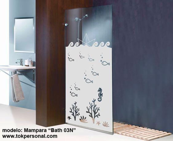 Mamparas Para Baño Asuncion:Vinilo ideal para la mampara Da intimidad y decora de una forma muy