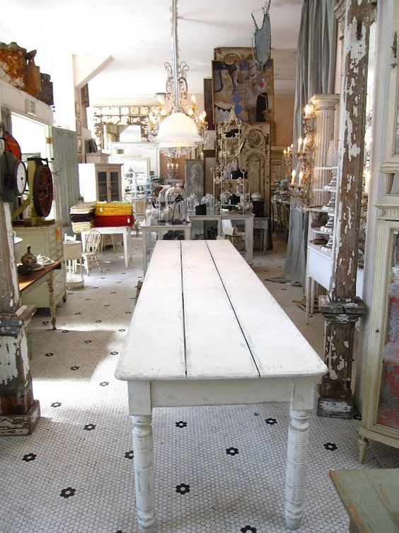 Farmhouse dining table could we make it shorter and put - Dining table against the wall ...
