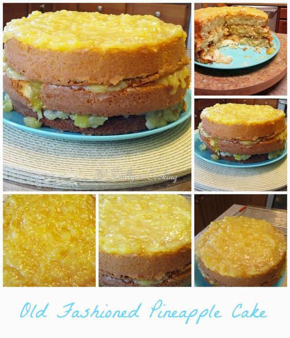 Southern Pineapple Layer Cake Recipes