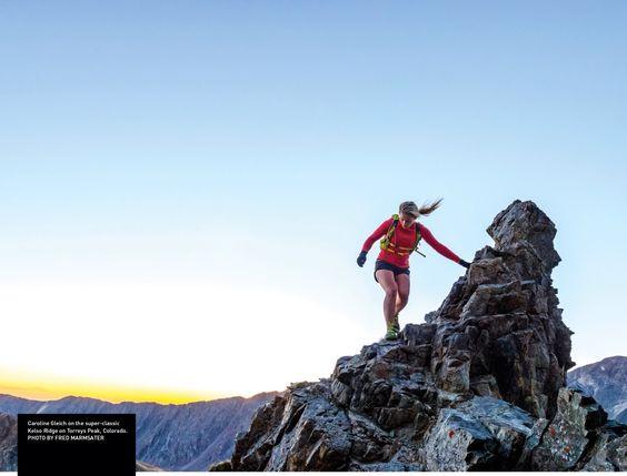 Foto uit trailrunner magazine jan 2015