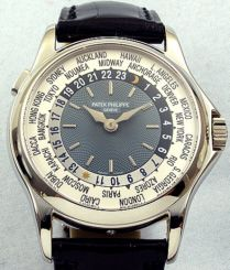 """Patek Philippe's """"Platinum World Time"""" ~ Colette Le Mason @}-,-;---"""