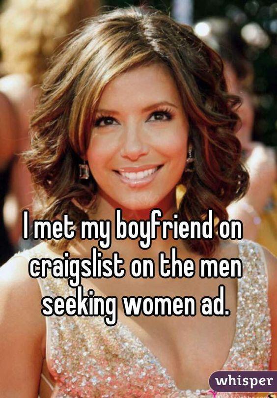 Craigslist men seeking women