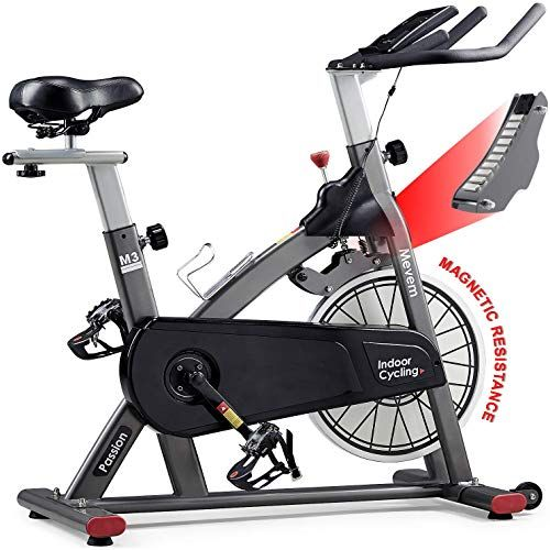 New Mevem Indoor Cycling Bike Belt Drive Indoor Magnetic Exercise