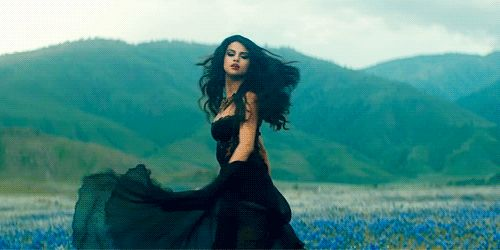 selena gomez gif quotcome amp get itquot dress movement flowing