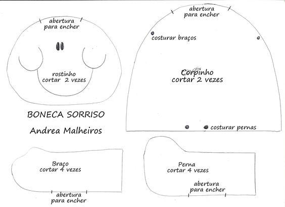 Tudo Artesanal com Peter Paiva   Boneca Sorriso por Andrea Malheiros