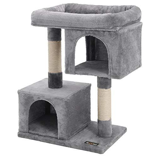 Great Deal Only 47 99 Cat Tree For Large Cats 2 Cozy Plush Condos Mommydeals Greatdeal Cat Tree Condo Cool Cat Trees Cat Tree House