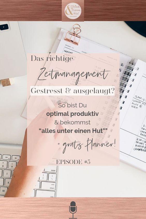 Zeitmanagement ermöglicht Dir mehr Produktivität