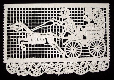 papel picado (perforated paper)