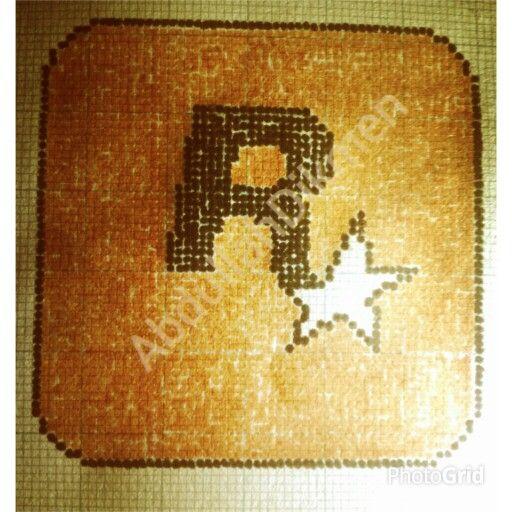 Rockstar Games Pixel Art