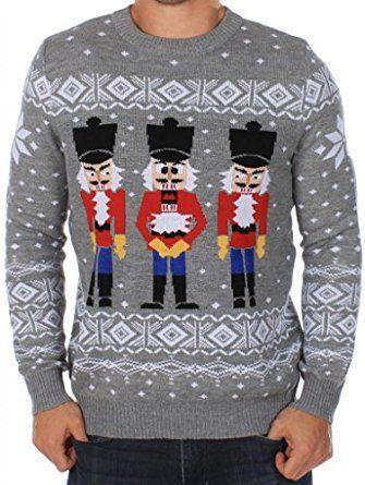 Men's Christmas Jumper - The Nut Cracker Funny Christmas Jumper by Tipsy Elves