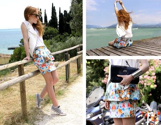 FLOWERS IN LAGO DI GARDA (by Kriste Stankeviciute) http://lookbook.nu/look/3760409-FLOWERS-IN-LAGO-DI-GARDA