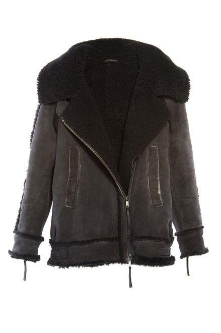 Diesel sheepskin jacket | Sheepish Shearling | Pinterest | Jackets