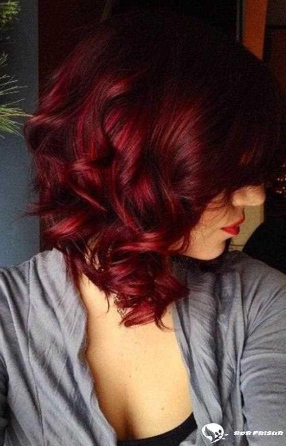 135 Verfuhrerische Ideen Fur Rote Haarfarben Die Sie Lieben Werden 2019 2020 Hair Coole Bob Bob Permanent Hair Color Semi Permanent Hair Color Hair Styles