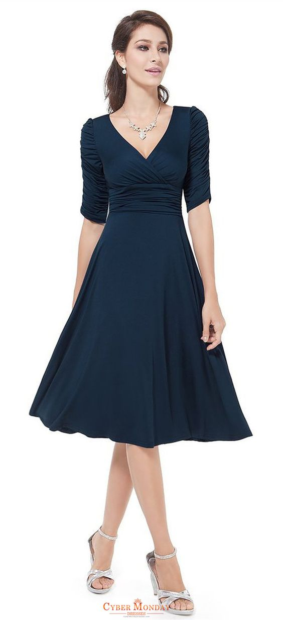 A Line Party/Cocktail Midi Dresses Item Code: #CMDP2H9NBP5