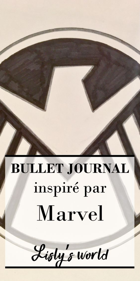 Bullet journal à thème : Avengers