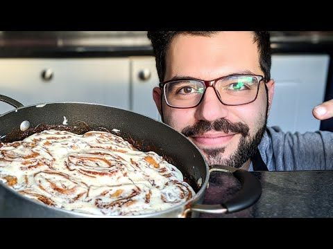 Cinnamon Buns اطيب سينابون رولز اكلتة في حياتي مع الصوص الأصلي شيف شاهين Youtube In 2021 Cooking Recipes Recipes Cooking