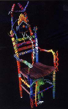 Eric Purves: Shamans Dream Chair
