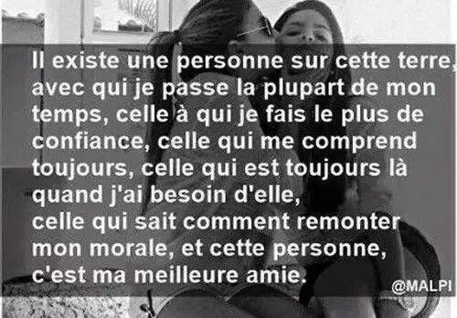 Relativ Ma meilleure amie | La vie est belle. | Pinterest | Bff and  PR62