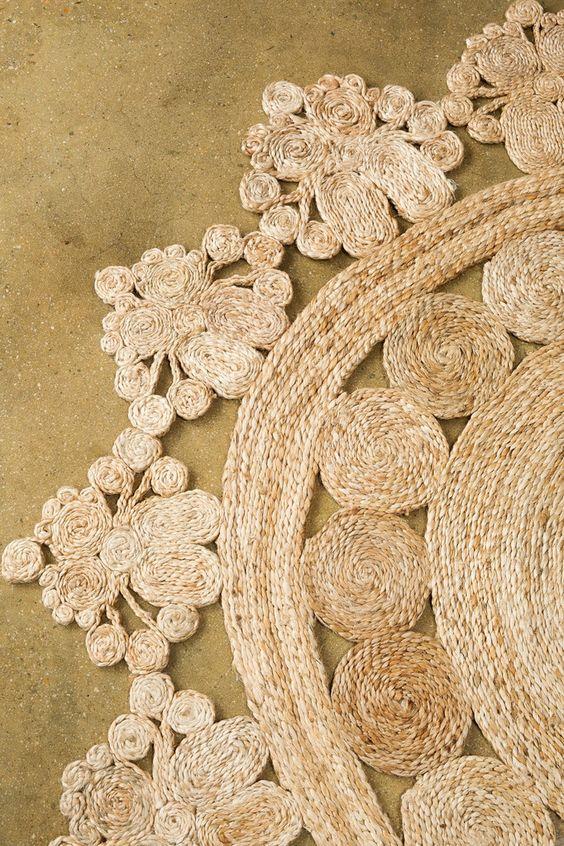 Flower Weave Marigold rug – Society Social
