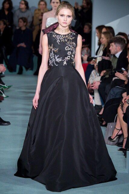 Oscar de la Renta Fall 2016 RTW: Diane Kruger