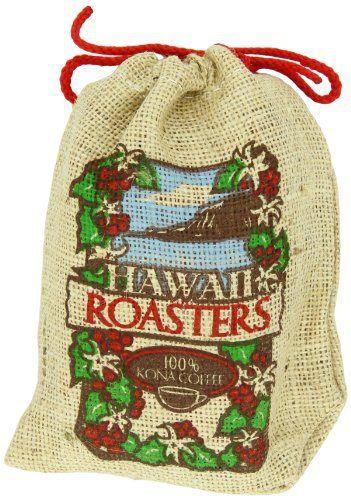 Hawaii Roasters 100% Kona Coffee, Medium Roast, Whole Bean, 7-Ounce Bag - http://teacoffeestore.com/hawaii-roasters-100-kona-coffee-medium-roast-whole-bean-7-ounce-bag/