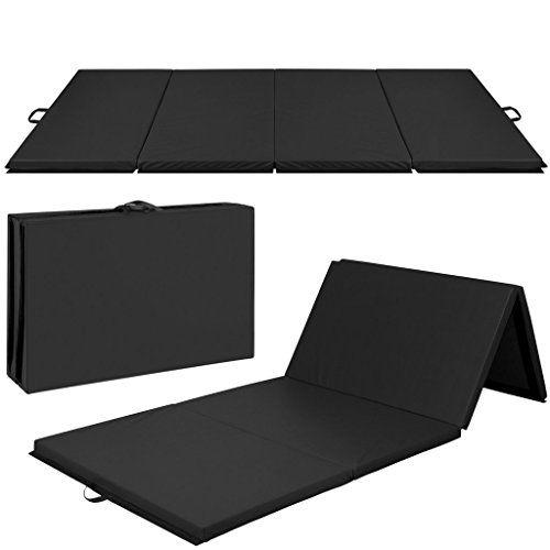 Discounted 4 X10 X2 Gymnastics Gym Folding Exercise Aerobics Mats Black Stretching Yoga Mat Black 4 X10 X2 Gymnast Gym Mats Gymnastics Gym Gymnastics Mats