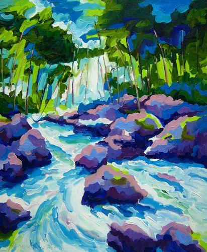 DE HOËGNE I--Oil on canvas--120x100cm