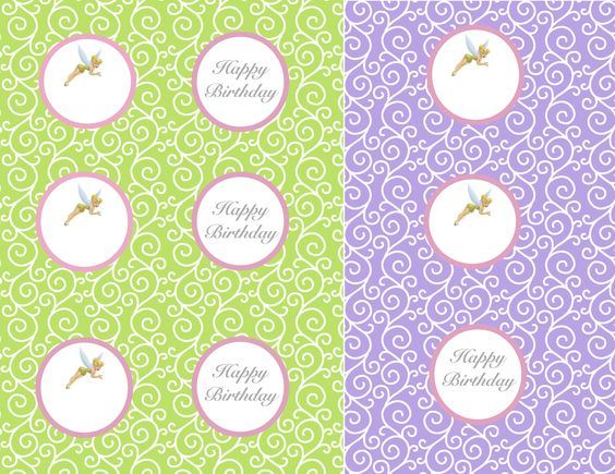In green and purple | Tinkerbell Birthday Party | Pinterest | Purple ...