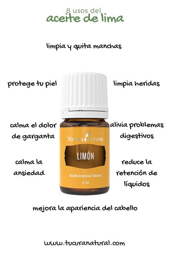 usos del aceite esencial de limón
