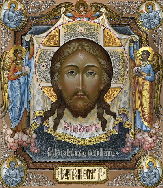 These are painting from Russia in the 17th century, why isn't Jesus white? Even the Russian painter understood he was a Jew from the middle East not a white westerner.