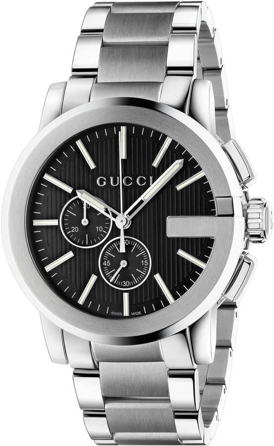 Gucci G Chrono Watch 44mm 2020 Erkek Kol Saatleri Gucci Ve Deri