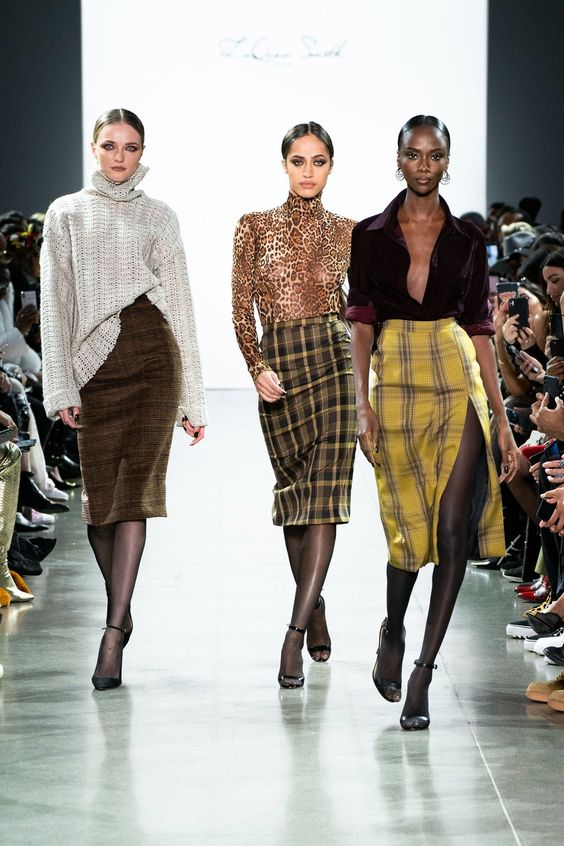 LaQuan Smith Fall 2019 Ready-to-Wear collection, runway looks, beauty, models, and reviews.