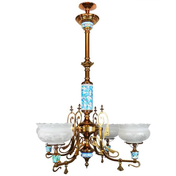 longwy aesthetic movement gas chandelier 4 light from a unique collection of chandeliers and pendant lighting