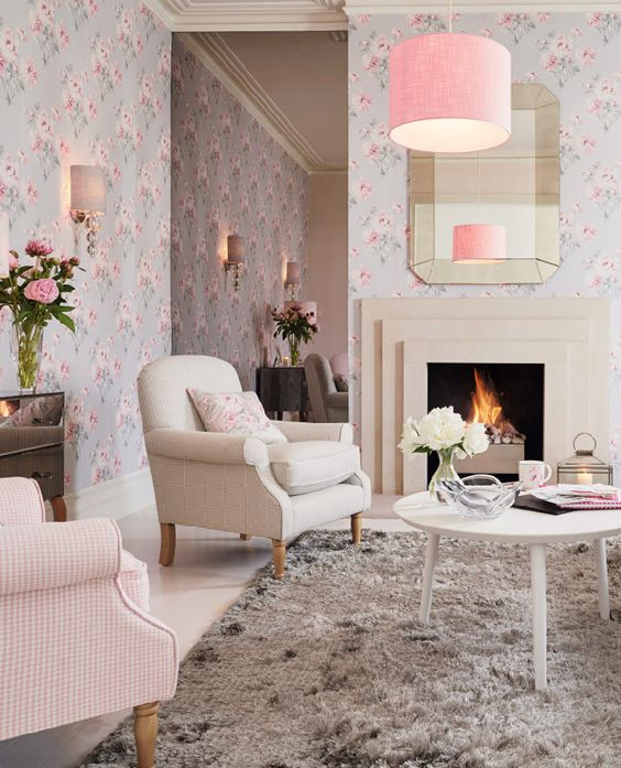 Laura Ashley Kitchen Wallpaper: Autumn, Floral And Laura Ashley On Pinterest